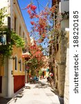 chania  greece   may 11th  2007 ... | Shutterstock . vector #188220185