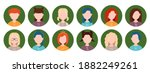 zodiac signs  a collection of... | Shutterstock .eps vector #1882249261