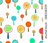seamless colorful hand drawn of ... | Shutterstock .eps vector #188238359