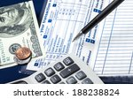 direct deposit is safe and... | Shutterstock . vector #188238824
