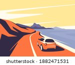 vector illustration of a red... | Shutterstock .eps vector #1882471531