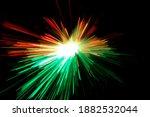 Optical Fiber Light Explosion...