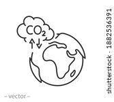 pollution environmental co2... | Shutterstock .eps vector #1882536391