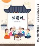 Korean New Year. Korean...
