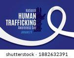 national human trafficking... | Shutterstock .eps vector #1882632391