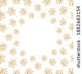 snowflake icon  snowflake... | Shutterstock .eps vector #1882683154