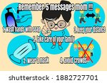 remember 5 message mom in the... | Shutterstock . vector #1882727701