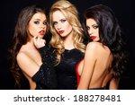 three beautiful enticing... | Shutterstock . vector #188278481