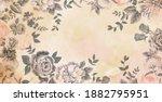 flower on soft pastel color...   Shutterstock . vector #1882795951