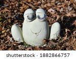 Frog Decoration In A Garden