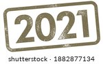 2021 eroded gold stamp with... | Shutterstock .eps vector #1882877134