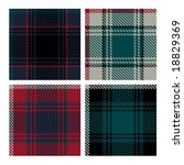 seamless vector plaid pattern | Shutterstock .eps vector #18829369