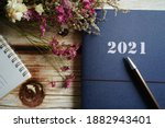 2021 Blue Note Book Or Planner...