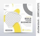 digital agency social media... | Shutterstock .eps vector #1883165191