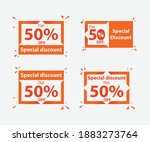 special discount offer tag... | Shutterstock .eps vector #1883273764