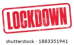 lockdown stamp with detailed...   Shutterstock .eps vector #1883351941