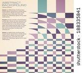 geometric background. | Shutterstock .eps vector #188335841