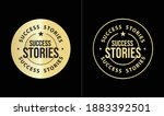success stories icon  premium... | Shutterstock .eps vector #1883392501