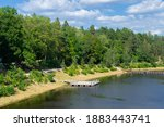 Bank Of The Ogre River In The...