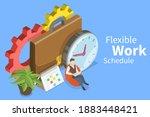 3d isometric flat vector... | Shutterstock .eps vector #1883448421