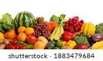assortment of fresh organic... | Shutterstock . vector #1883479684