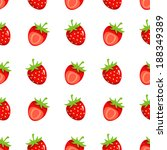 seamless pattern with cartoon... | Shutterstock .eps vector #188349389