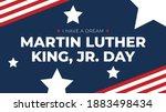 martin luther king  jr. day... | Shutterstock .eps vector #1883498434