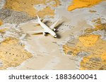 travel the world. travelling by ... | Shutterstock . vector #1883600041