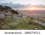 Sunset From West Mill Tor...