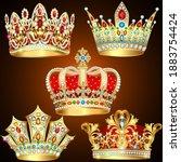 illustration of a set of... | Shutterstock .eps vector #1883754424