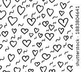 cute seamless pattern for...   Shutterstock . vector #1883804641