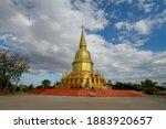 Golden Buddha's Relics At...