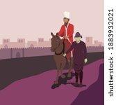 The Jew Mordechai Rides A Horse ...