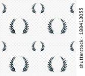 laurel wreath sign icon.... | Shutterstock .eps vector #188413055
