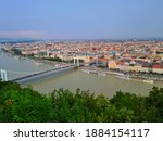 Mountain View Of Budapest...