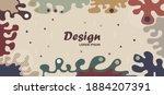 fluid background memphis retro...   Shutterstock .eps vector #1884207391