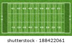 american football field with... | Shutterstock .eps vector #188422061