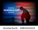 postcard in honor of the day of ...   Shutterstock . vector #1884262624