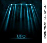 abstract ufo background  eps 10 | Shutterstock .eps vector #188434037