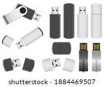 memory stick vector design...   Shutterstock .eps vector #1884469507