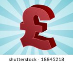 british uk pounds currency... | Shutterstock .eps vector #18845218