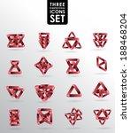 business design elements  icon... | Shutterstock .eps vector #188468204
