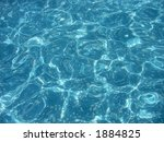 swimming pool water surface | Shutterstock . vector #1884825