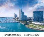 City Of Miami Florida  Colorfu...