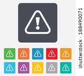 attention sign icon.... | Shutterstock . vector #188490071