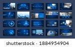 design geometric icons business ... | Shutterstock .eps vector #1884954904