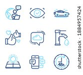 technology icons set. included... | Shutterstock .eps vector #1884957424