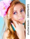 beautiful woman | Shutterstock . vector #188496491