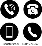 phone icon vector. mobile phone ... | Shutterstock .eps vector #1884973057