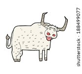 cartoon hairy cow | Shutterstock . vector #188499077